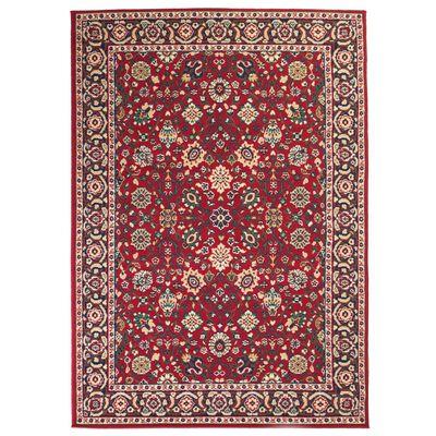 vidaXL vörös/bézs keleti szőnyeg 140 x 200 cm