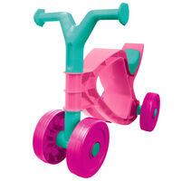BIG Flippi ráülős rózsaszín és türkizkék kerékpár