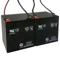 2 db pótakkumulátor elektromos rollerhez 12 V 4,5 Ah