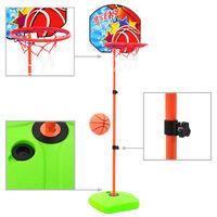 vidaXL gyerek-kosárlabdagyűrű- és labdaszett