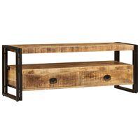 vidaXL tömör mangófa TV-szekrény 120 x 35 x 45 cm