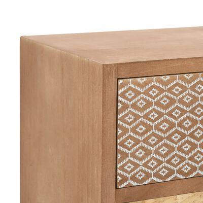 vidaXL barna 4 fiókos MDF komód 34,5 x 30 x 74,5 cm