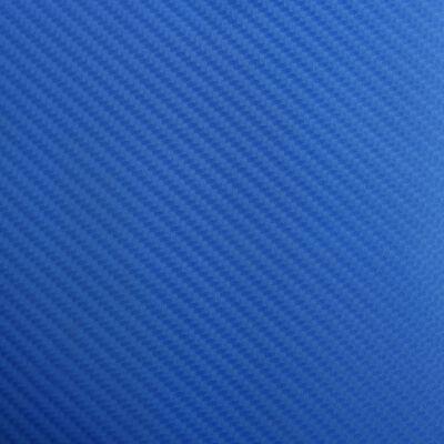 vidaXL matt kék 4D autófólia 200 x 152 cm, Kék