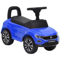 vidaXL kék Volkswagen T-Roc pedálos autó