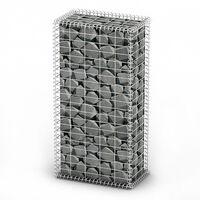 vidaXL gabion kosár fedéllel horganyzott drótból 100 x 50 x 30 cm