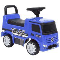 vidaXL kék Mercedes-Benz kamion pedálos autó