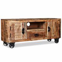 vidaXL nyers mangófa TV-szekrény 120 x 30 x 50 cm