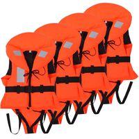 vidaXL 4 db gyerek mentőmellény 100 N 10-20 kg
