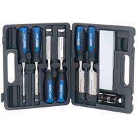 Draper Tools nyolc darabos favésőszett
