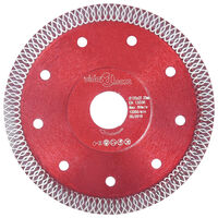 vidaXL gyémánt vágókorong furatos acéllal 125 mm