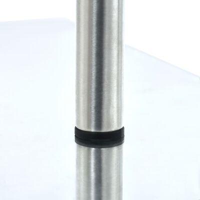 vidaXL 3 szintes edzett üveg konyhai sarokpolc