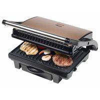 Bestron ASW113CO fekete és rézszínű panini sütő 1000 W