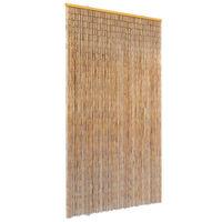 vidaXL bambusz szúnyogháló ajtófüggöny 100 x 220 cm