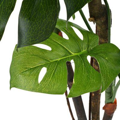 vidaXL zöld, cserepes műkönnyezőpálma 130 cm