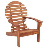 vidaXL tömör akácfa Adirondack szék
