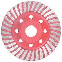 vidaXL gyémánt csiszolótárcsa turbóval 115 mm
