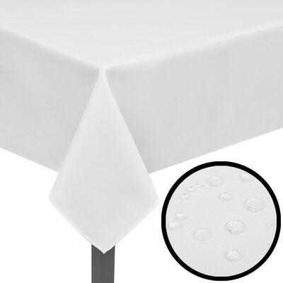 5 db asztalterítő 250 x 130 cm fehér