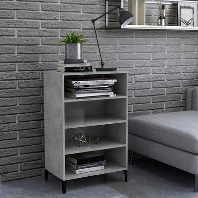 vidaXL betonszürke forgácslap tálalószekrény 57 x 35 x 90 cm