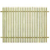 vidaXL impregnált fenyőfa kerti kerítés 170 x 125 cm