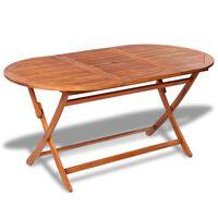vidaXL tömör akácfa kerti asztal 160 x 85 x 75 cm