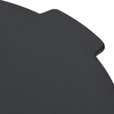 vidaXL öntöttvas grilltárcsa Ø44 cm